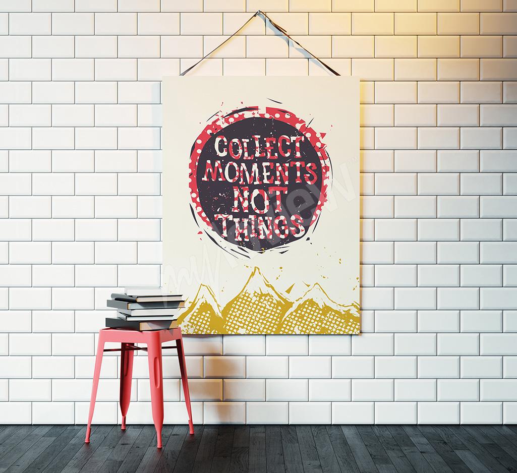 Scandinavian typography poster