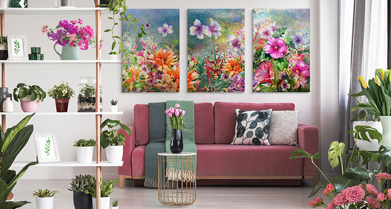 Springtime interior design – we know how to best refresh your interiors