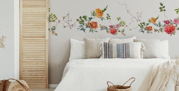 Boho-style bedroom sticker