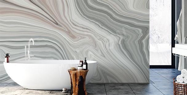 Decorative bathroom mural