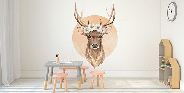 Deer sticker for girls