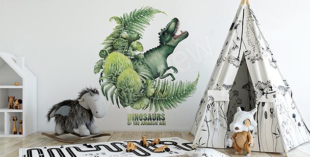 Dinosaur sticker for boys