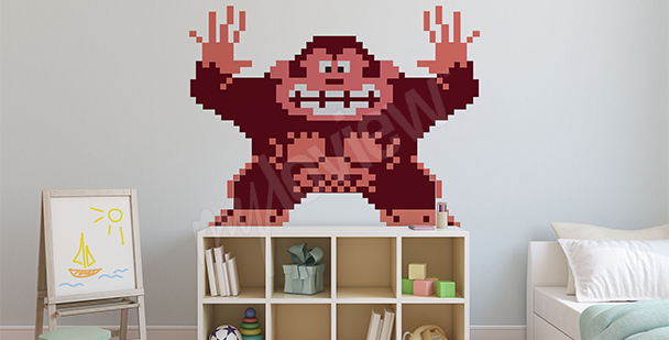 Donkey Kong wall sticker