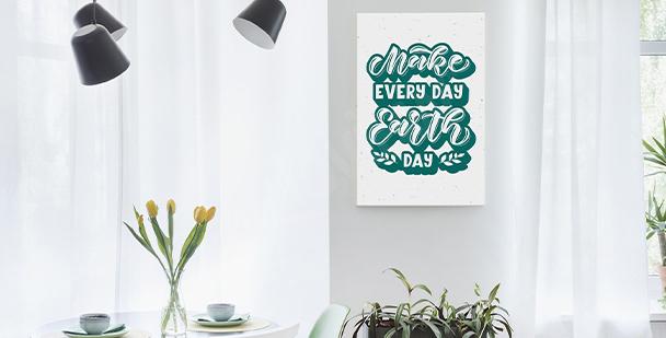 Ecology canvas print