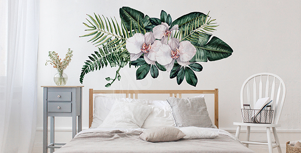 Exotic wall sticker