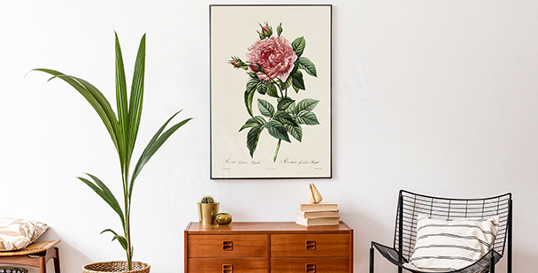 Floral-style poster