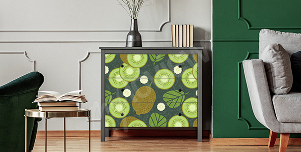 Fruit dresser sticker
