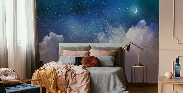 Galaxy full of stars mural