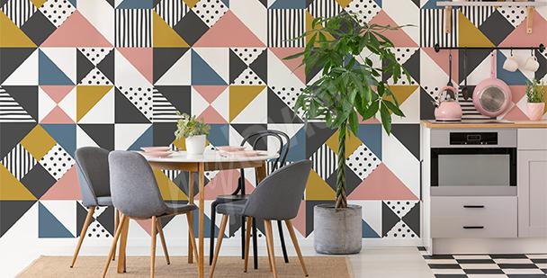 Geometry mural
