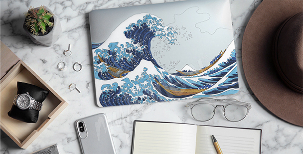 Hokusai sticker – the Great Wave