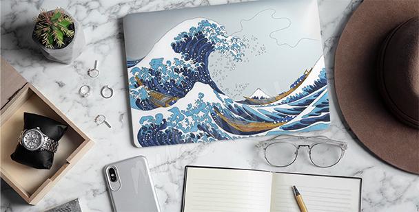 Hokusai sticker – the Great Wave