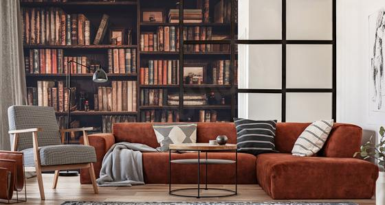 A home library design ideas for every bookworm!