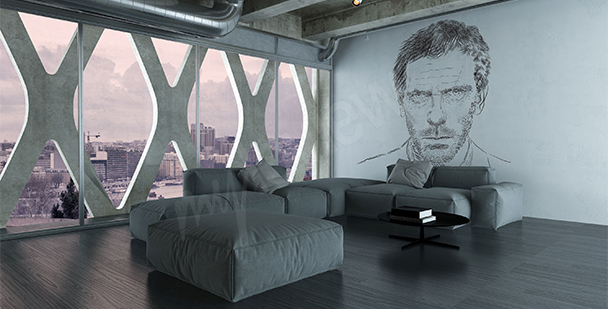 House, MD mural