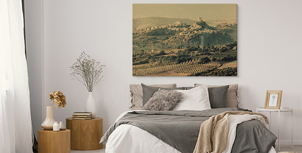 Italian landscape canvas print