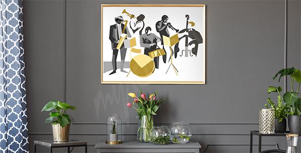 Jazz musicians poster