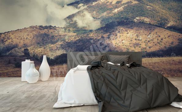Landscape mural for bedroom