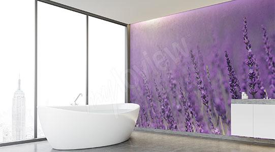 Lavender murals