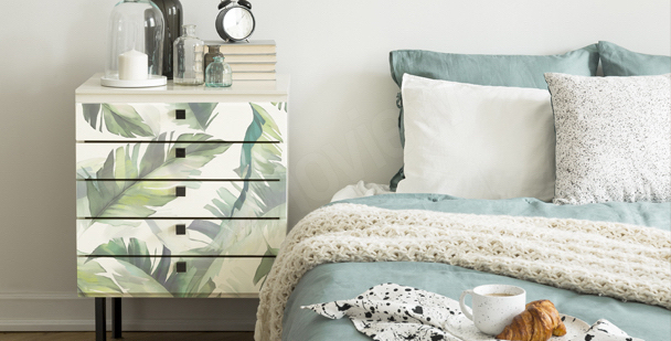 Leafy bedroom sticker