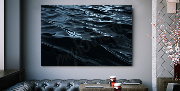 Abstract tunnel 3d canvas print