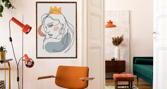 Line art: minimalistic motifs which prove that less is more