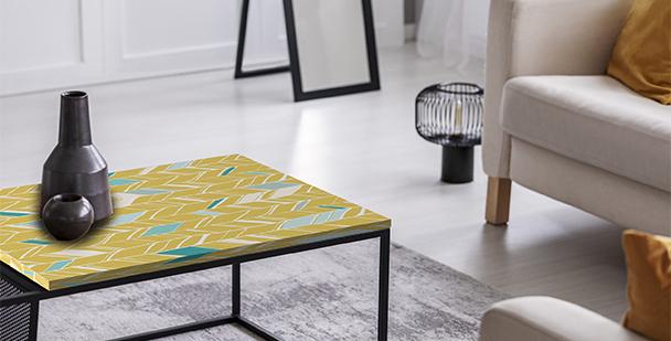 Living room table sticker