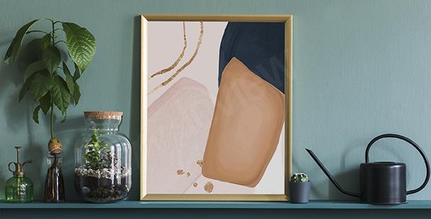 Minimalist-style poster