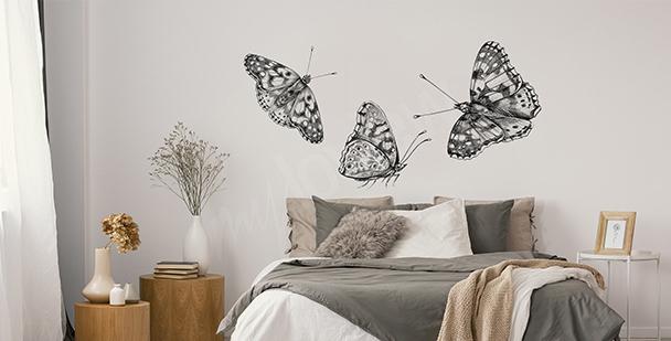 Monochromatic wall sticker