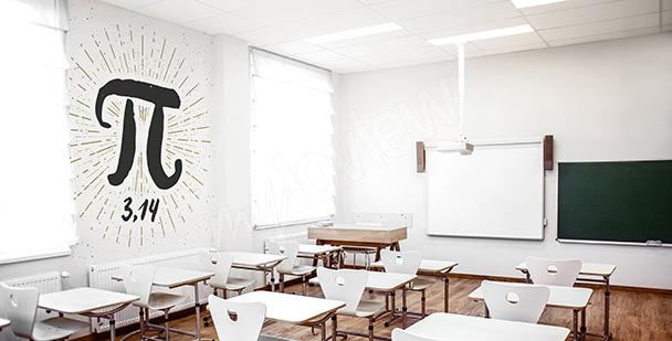 Mural for a mathematics classroom