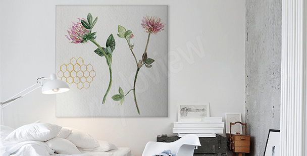 Nature canvas print for bedroom