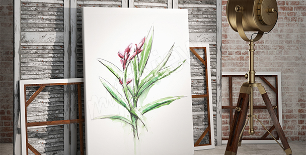 Nature canvas print plant