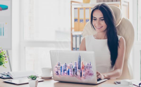 New York laptop sticker