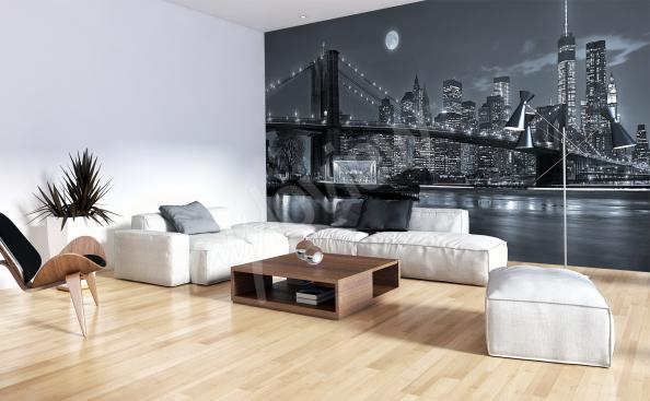 New York panoramic wall mural