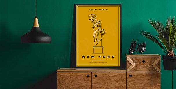 New York symbol poster