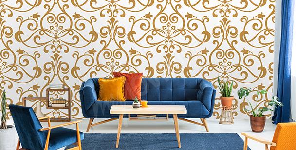 Ornament mural for the living room
