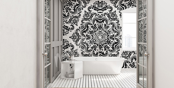 Bathroom mural boards