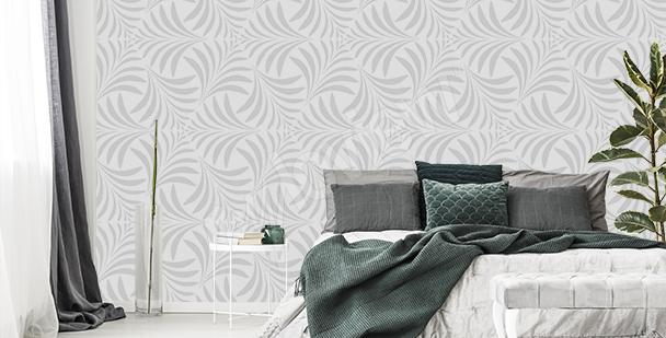 Ornamental pattern mural
