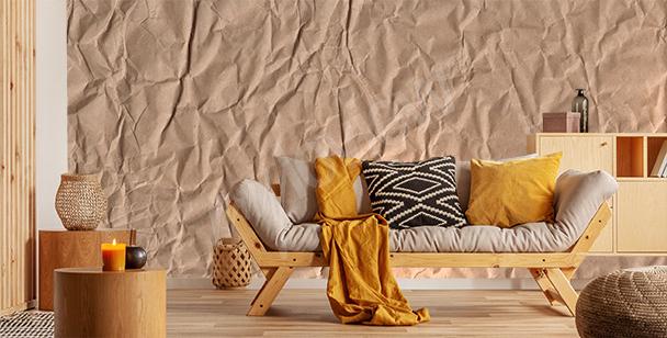 Paper texture mural