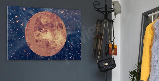 Planet Venus canvas print
