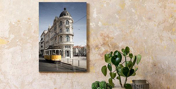 Portuguese architecture canvas print