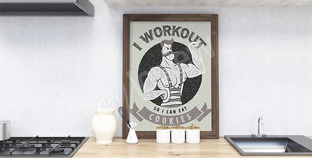 Retro-style poster