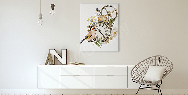 Rustic style canvas print