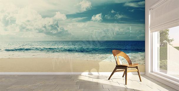 Sea beach mural