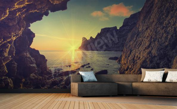 Sea landscape wall mural