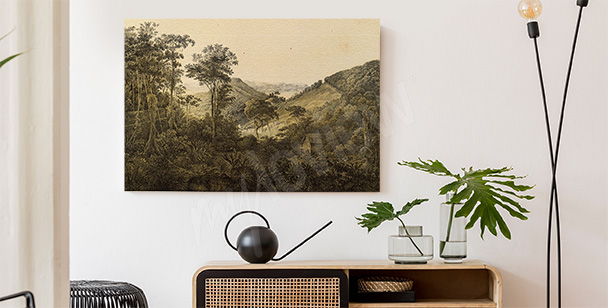 South American view canvas print