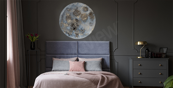 Space sticker for the bedroom