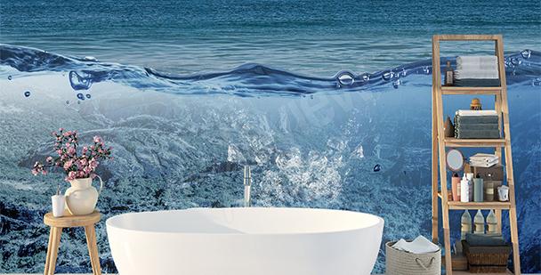 Spatial mural ocean