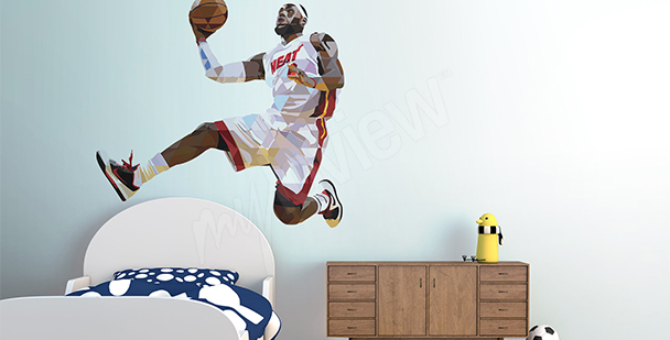 Sport sticker LeBron James