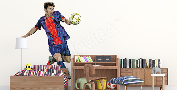 Sport sticker Leo Messi