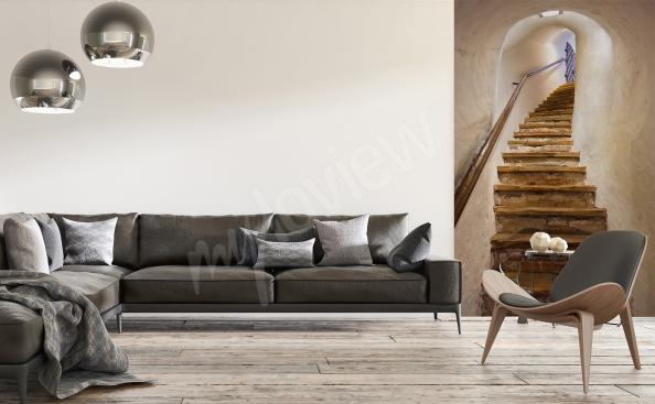 Stairs wall mural 3D