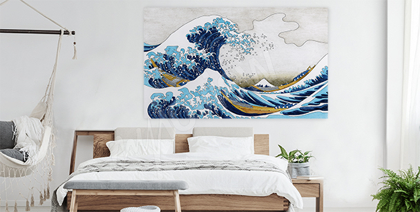 Sea diptych canvas print for office